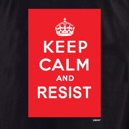 Keep Calm and Resist T-shirt | Pink #RESIST
