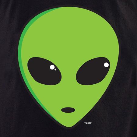 Alien Head Tote | Tote Bags