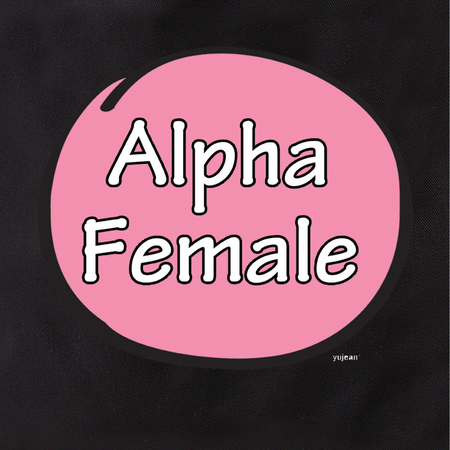 Alpha Female Tote | #PINKRESIST