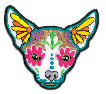 Cali's Chihuahua Patch | Sugar Skulls