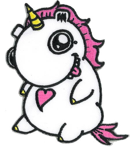 Emi Boz Chubby Unicorn Patch | Critters