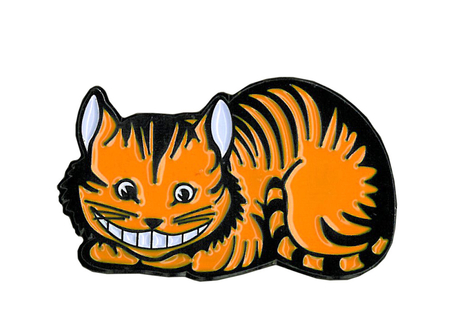 Alice Cheshire Cat Enamel Pin | Alice
