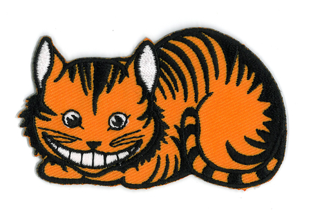 Cheshire Cat Patch | Alice