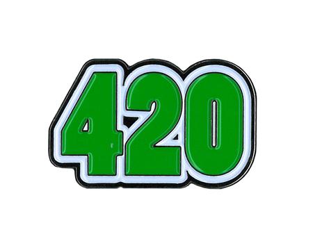 420 Enamel Pin | Enamel Pins