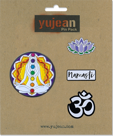 Yoga Pin Pack | Peace and Eco