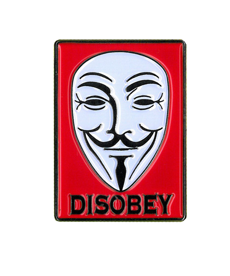 Guy Fawkes Enamel Pin | Enamel Pins