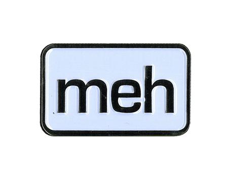 meh Enamel Pin | Enamel Pins