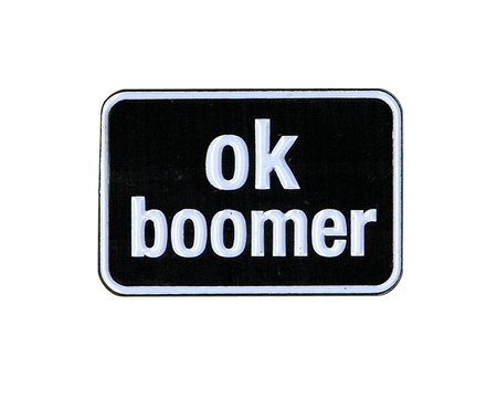 Ok Boomer Enamel Pin | Enamel Pins