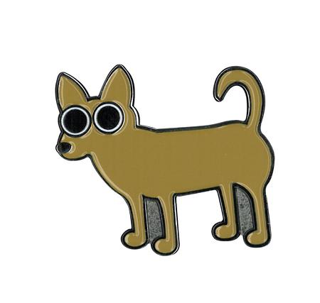 Heidi Barack Chihuahua Enamel Pin | Enamel Pins
