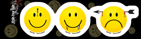 Have a Killer Day Sticker | Smiley Face!!