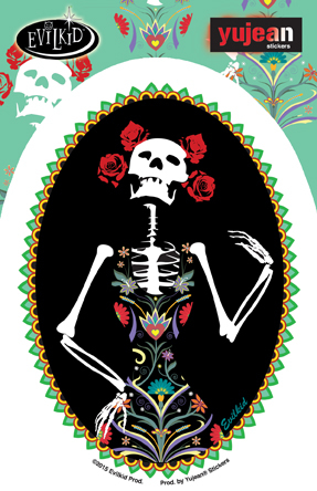 Catrina Sticker | Stickers