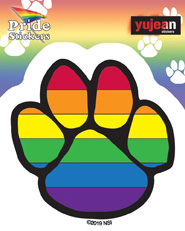 Pride Paw Sticker | Stickers