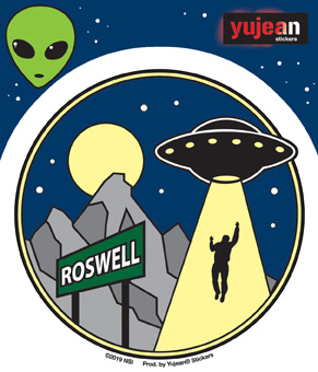 Roswell Alien Sticker | Aliens