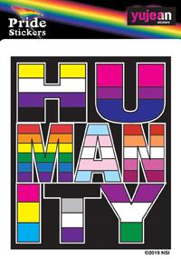 Humanity Sticker | Gay Pride, LGBT
