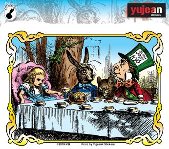 Alice Tea Party Sticker | Alice