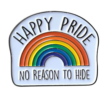 Happy Pride Enamel Pin | Enamel Pins