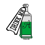 Mini Drink Me Sticker | Little Tiny Mini Stickers