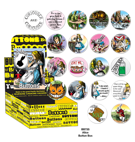 Alice Button Box | Button Boxes-WHOLESALE ONLY