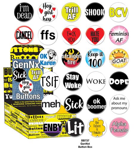 GenNxt Button Box | Skool Daze