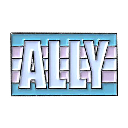 Trans Ally Enamel Pin | Enamel Pins