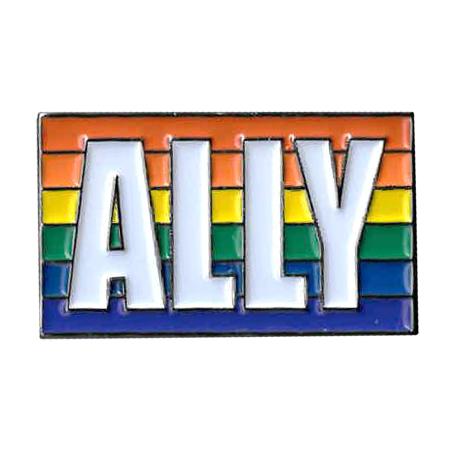 Rainbow Ally Enamel Pin | Enamel Pins