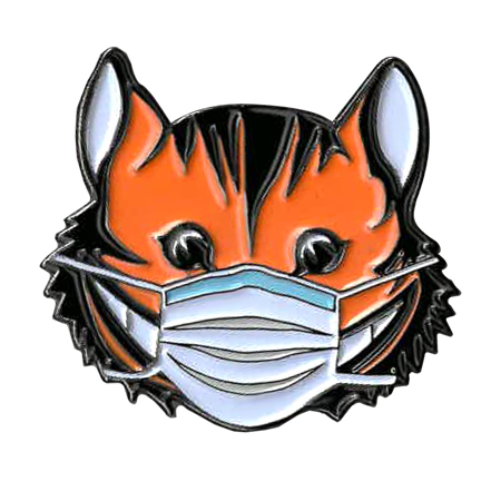Cheshire Cat Mask Enamel Pin | Enamel Pins