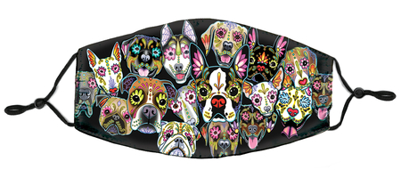 Cali's Sugar Dogs Mask | Dogs