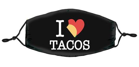 I Heart Tacos Mask | Masks