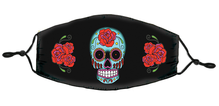 Sunny Buick Rose Sugar Skull Mask | Sugar Skulls