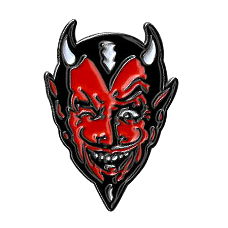 Kalynn Campbell Devil Enamel Pin | NEW INTROS 2021