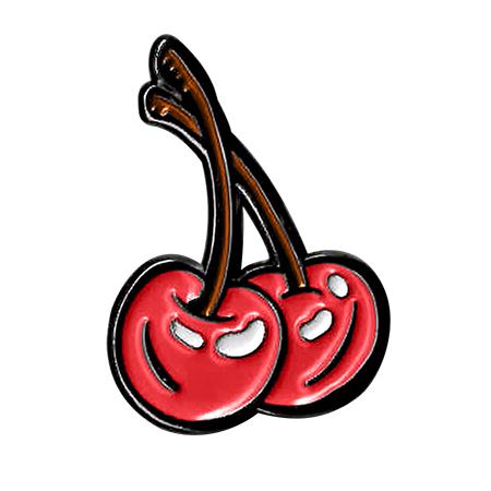 Kalynn Campbell Cherries Enamel Pin | Enamel Pins