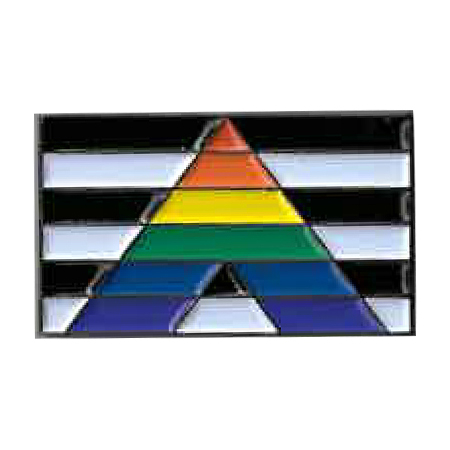 Ally Flag Enamel Pin | Enamel Pins