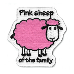 Pink Sheep Patch | Patches