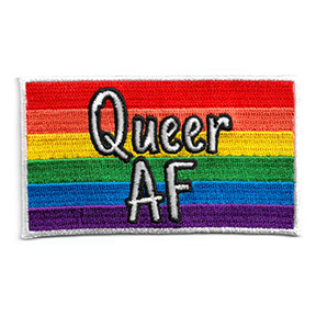Queer AF Flag Patch | Patches