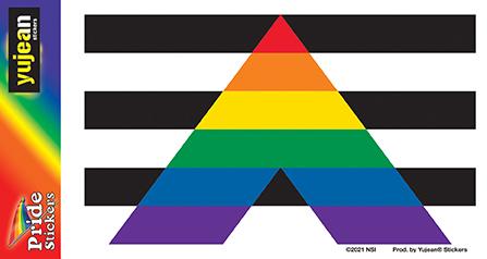 Ally Flag Sticker   Stickers