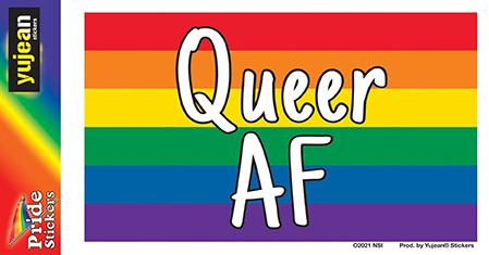 Queer AF Sticker | Stickers