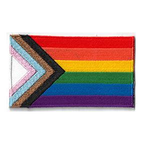 Progress Pride Patch   NEW INTROS 2021