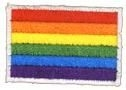 Small Gay Pride Rainbow Patch