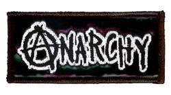 Anarchy Vinyl Patch