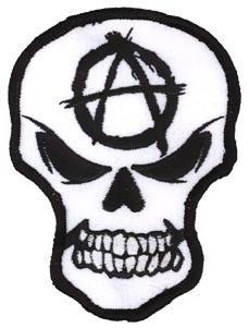 Anarchy Skull Patch