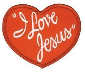 I love Jesus Patch