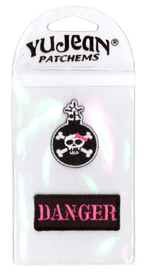 My Sweet Fiend Bomb/Danger Mini-Patch Pak