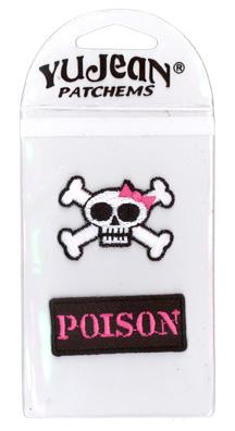 My Sweet Fiend Crossbones/Poison Mini-Patch Pak