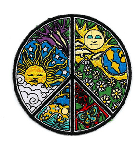 Dan Morris Peace Patch | Hippie
