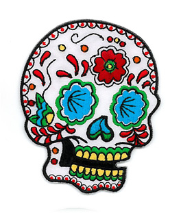Sunny Buick Candy Sugar Skull Patch | Patches