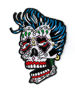 Sunny Buick Rocker Sugar Skull Patch | Patches