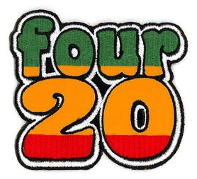 Four 20 Patch | Hippie
