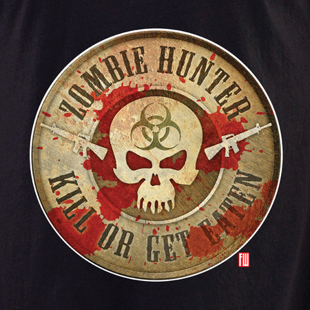 Zombie Hunter Shirt | Frank Wiedemann
