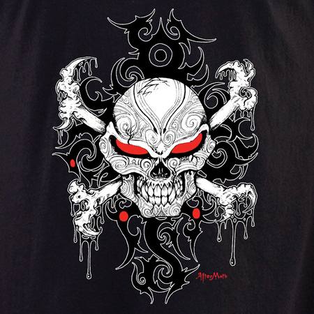 Aftermath Skull and Crossbones T-shirt
