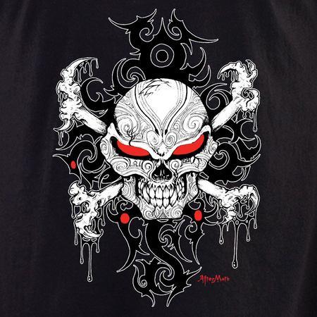 Aftermath Skull and Crossbones T-shirt